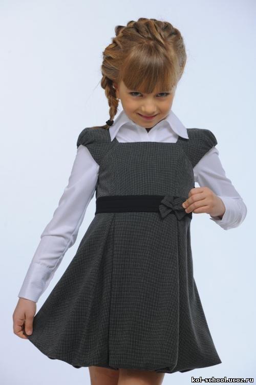 Как из школьного сарафана сшить юбку 41